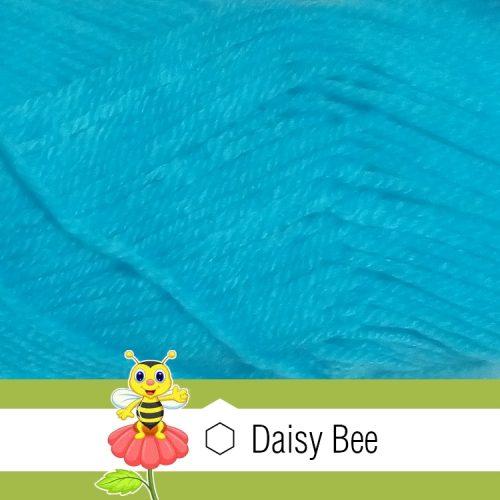 Daisy Bee Twist Turban Cyan