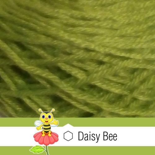 Daisy Bee Twist Turban Green