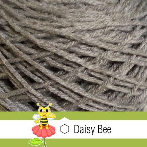 Daisy Bee Twist Turban Grey