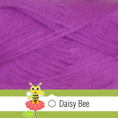 Daisy Bee Twist Turban Purple