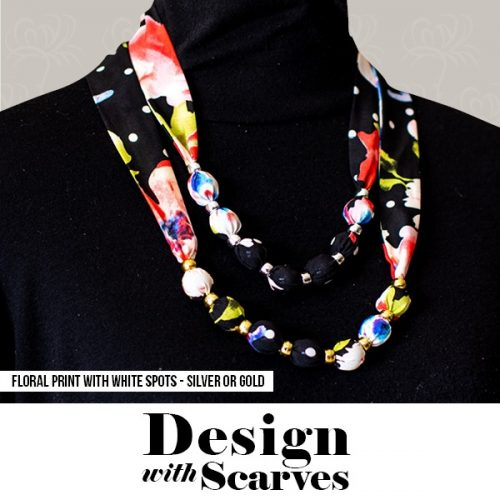 Design with Scarves necklaces10