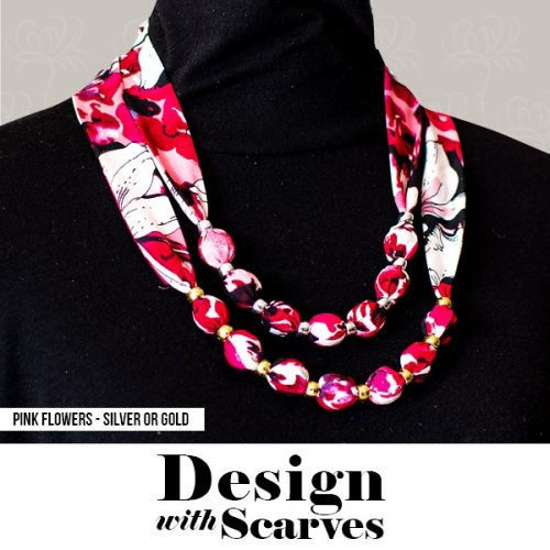 Design with Scarves necklaces11