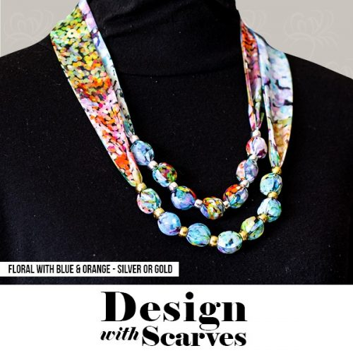Design with Scarves necklaces13