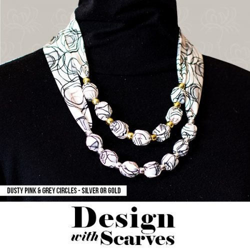 Design with Scarves necklaces15