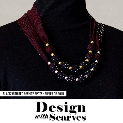Design with Scarves necklaces16