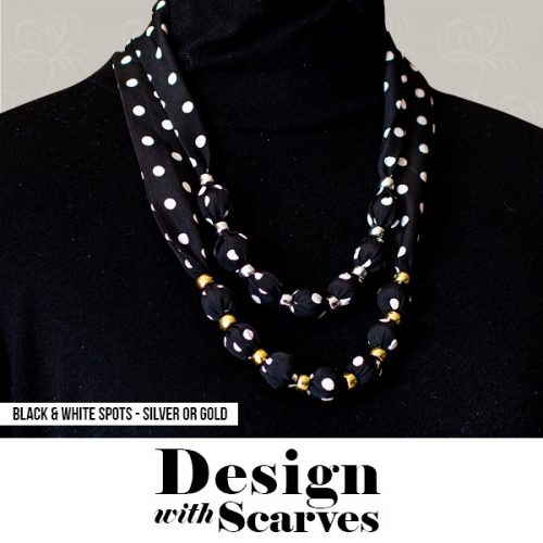 Design with Scarves necklaces17