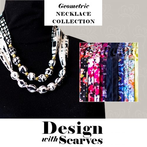 Design with Scarves necklaces18