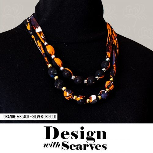 Design with Scarves necklaces19