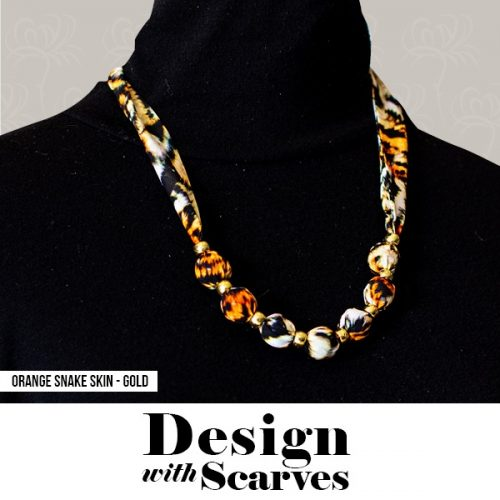 Design with Scarves necklaces2