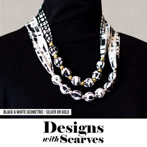 Design with Scarves necklaces20