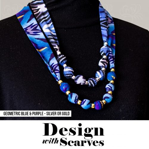 Design with Scarves necklaces21