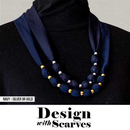 Design with Scarves necklaces25