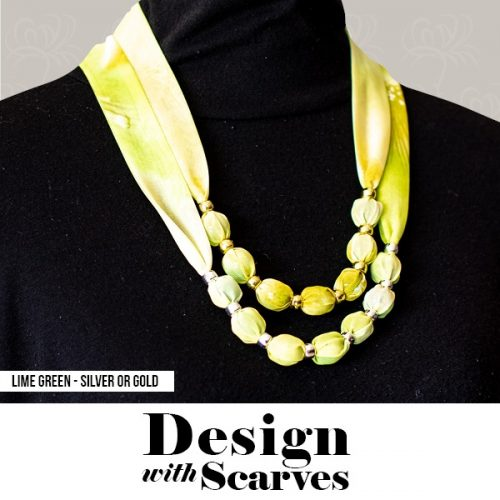 Design with Scarves necklaces26