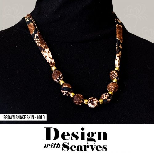 Design with Scarves necklaces3
