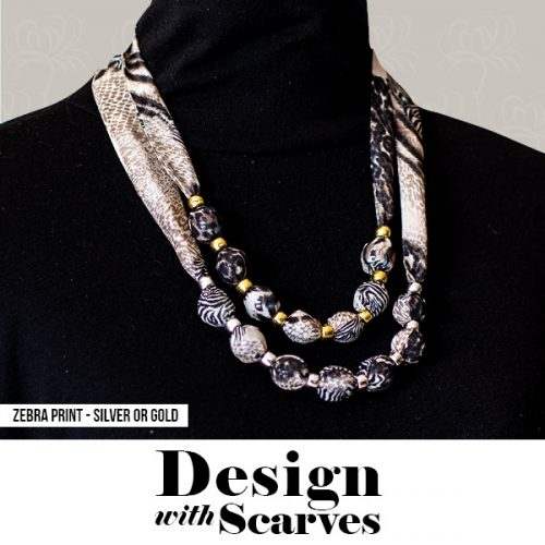 Design with Scarves necklaces6