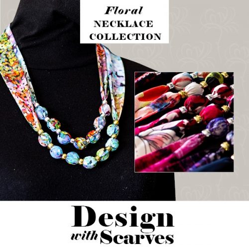 Design with Scarves necklaces8