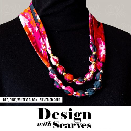 Design with Scarves necklaces9