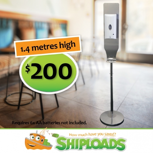 Hands Free Standing Dispenser 1