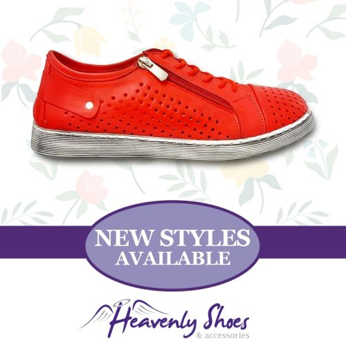 Heavenly Shoes Cabello Red