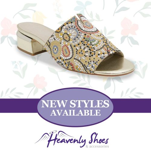 Heavenly Shoes Django Juliette Tammy Beige