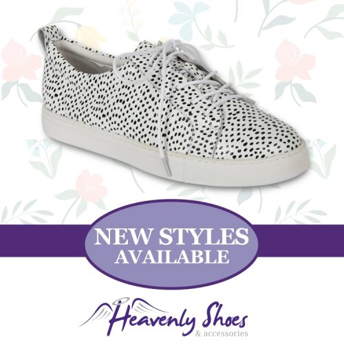 Heavenly Shoes Hinako Sail Snow Leopard