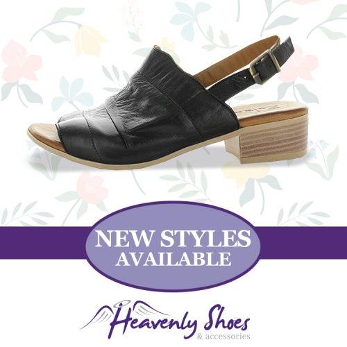 Heavenly Shoes Zola Hills Black