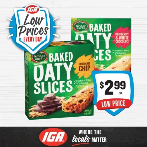 IGA Oaty Slice 2 99