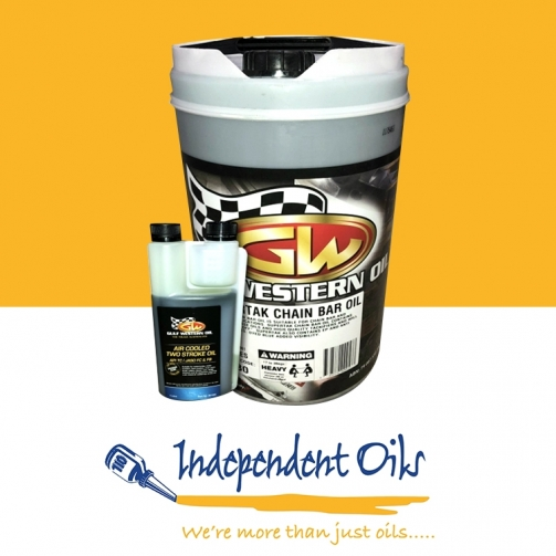 Independent Oils Gulf Western Bar Chain Oil