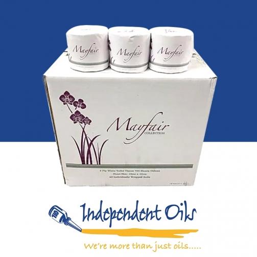 Independent Oils Mayfair Toilet Rolls
