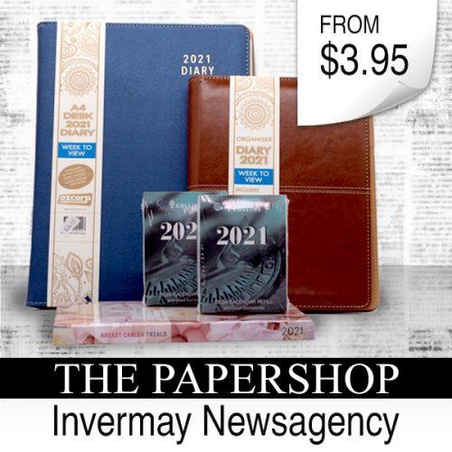 Invermay Newsagency diary