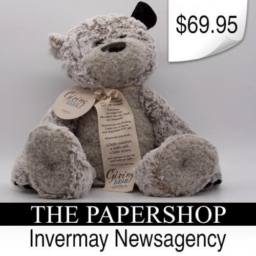 Invermay Newsagency Bear