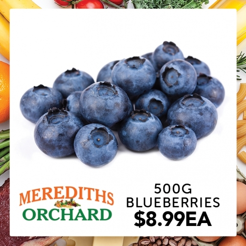Merediths Blue Berries 24 March2020