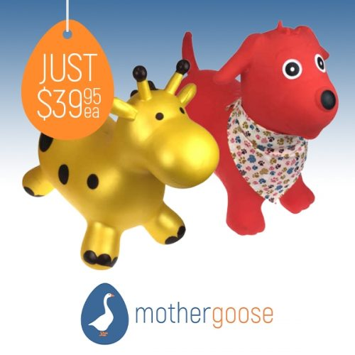 Mother Goose Bouncy Animals
