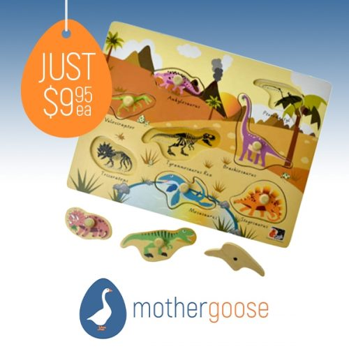 Mother Goose Dino Puzzle