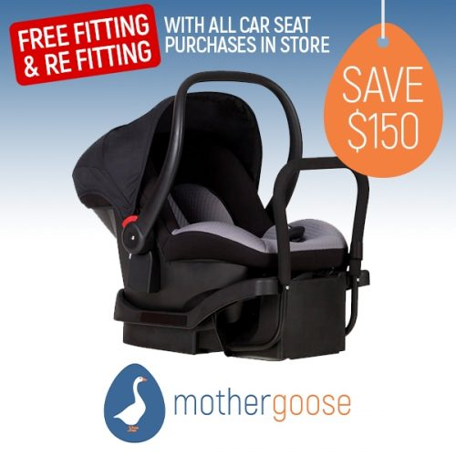 Mother Goose Phil Teds Alpha ISOFIX Capsule