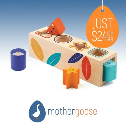 Mother Goose shapebox