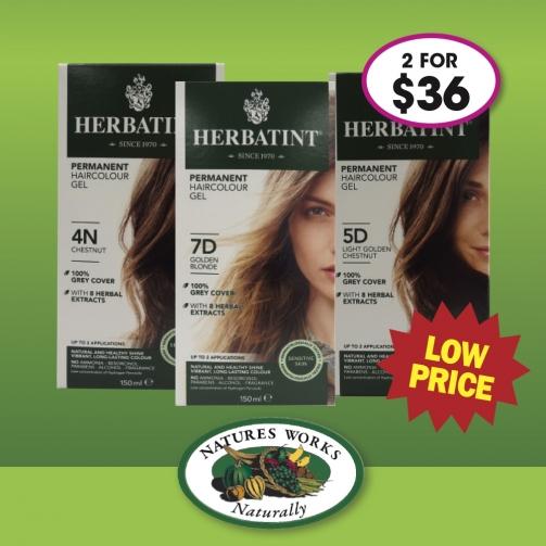 N Works Herbatint Haircolour Gel