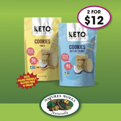 N Works Keto Naturals Cookies