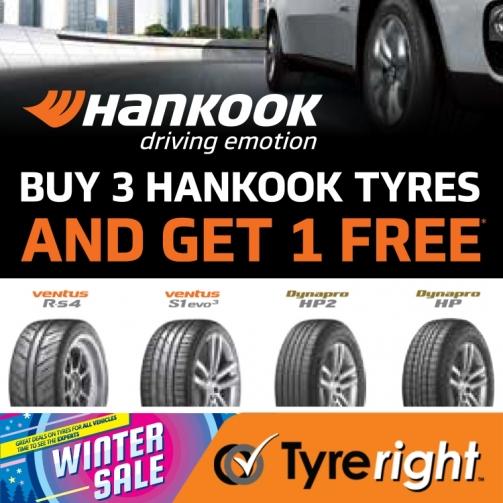 Offer Hankook Tyres Jul Aug