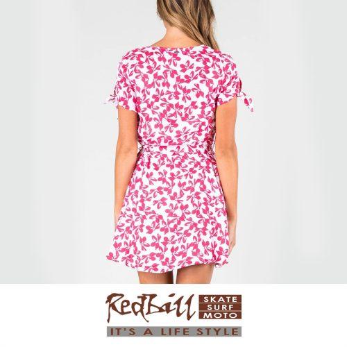 Red Bill Surf Red Flower Dress 2
