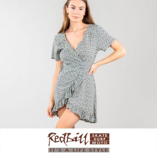 Red Bill Surf Rusty goodess dress