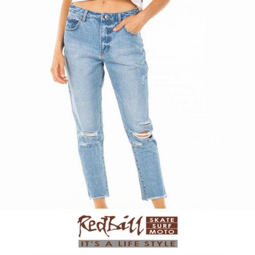 Red Bill Surf ex boyfriend jeans
