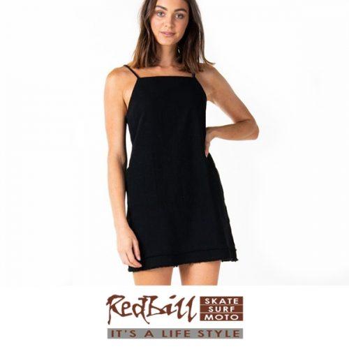 Red Bill Surf linen dress