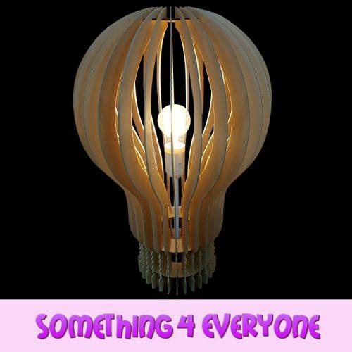 S4 E Hot Air Balloon Lamp