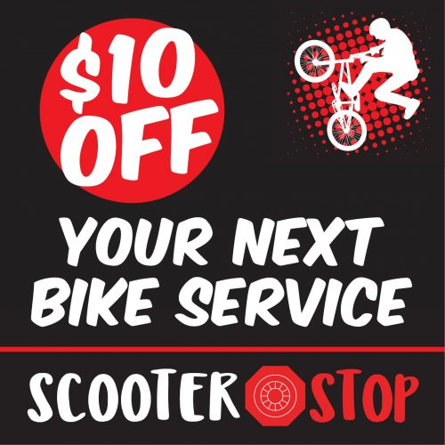 SCOOTER STOP Catalogue 10 OFF