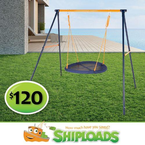 SHP Round Swing Set