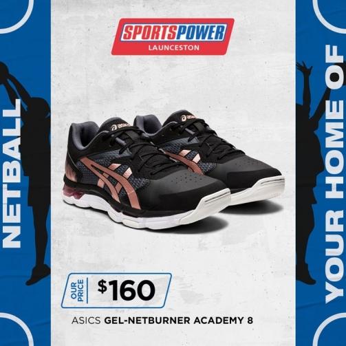 SP Netball Asics Gel Netburner Academy 8