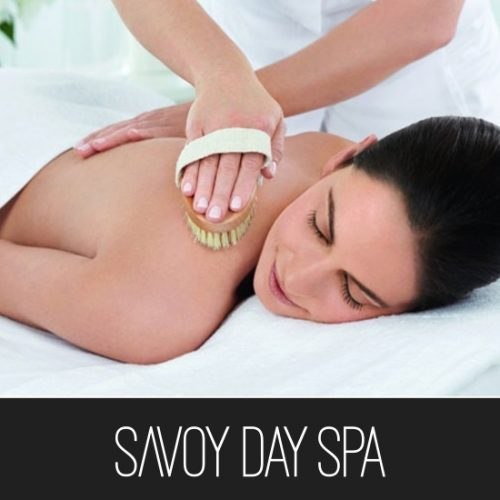 Savoy Day Spa Dry Scrub