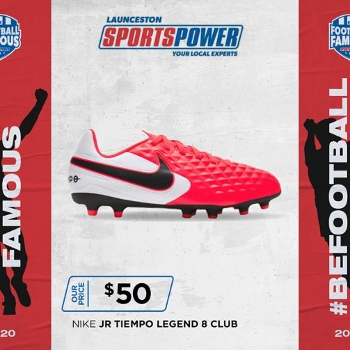 Sport Power Nike JR Tempo Lengend8 Club