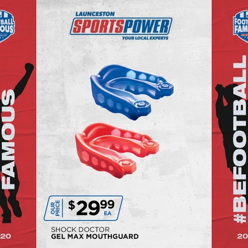 Sport Power Shock Doctor Mouthguard